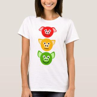 Pig Traffic Lights T-Shirt