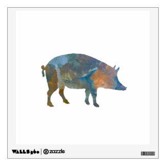 Pig Wall Sticker