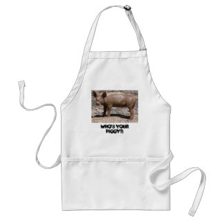 Pig, Who's Your Piggy?! Standard Apron
