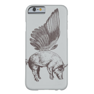 Pig with Wings Barely There iPhone 6 Case