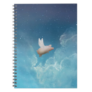 pig with wings notebook