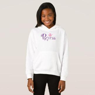PIGCESS  CARTOON Girls' Fleece Pullover Hoodie