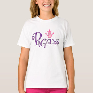 PIGCESS  CARTOON Girls' Hanes TAGLESS® T-Shirt