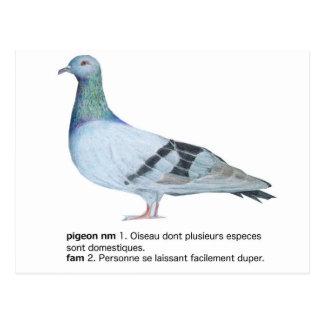 Pigeon by NuancesdePigeon Tee-shirts Postcard