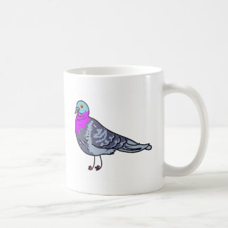 pigeon coffee mug