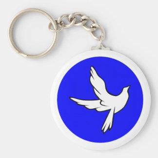 Pigeon de paix dove peace porte-clés