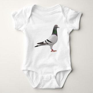 pigeon design baby bodysuit