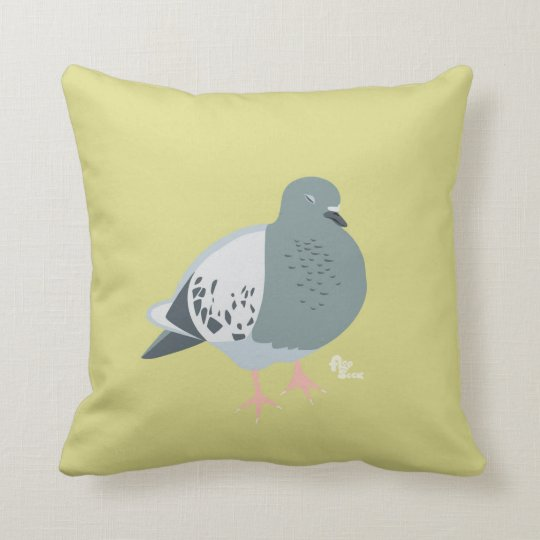 Pigeon Dreams Pillow