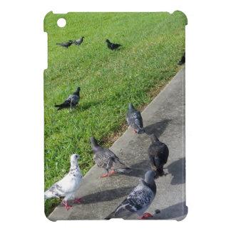 pigeon family reunion.JPG iPad Mini Case
