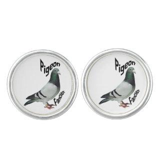 Pigeon Fancier Cufflins Cufflinks