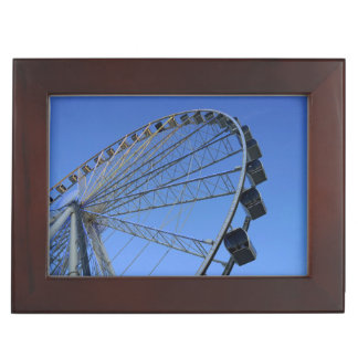 Pigeon Forge Wheel Keepsake Box
