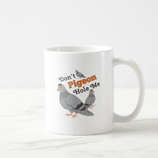Pigeon Hole Me Coffee Mug