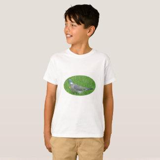 Pigeon image for Kids' T-Shirt, White T-Shirt