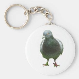 Pigeon Keychain