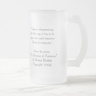 Pigeon Lake Frosted Mug