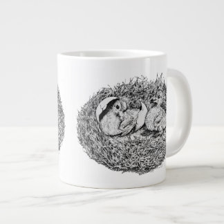 Pigeon Nest Babies Jumbo Mug