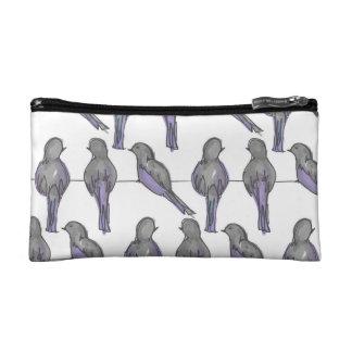Pigeon Pals Print Makeup Bag