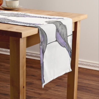 Pigeon Pals Print Short Table Runner