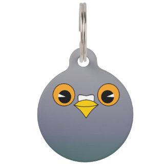 Pigeon pet ID tag