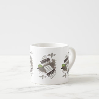 Pigeon Plane Expresso Cup