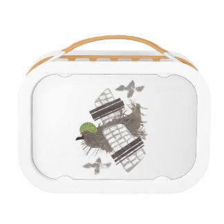Pigeon Plane Lunchbox