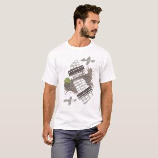 Pigeon Plane No Background Men's T-Shirt