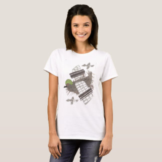 Pigeon Plane No Background Women's T-Shirt