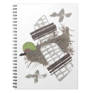 Pigeon Plane Notebook
