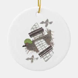 Pigeon Plane Ornament