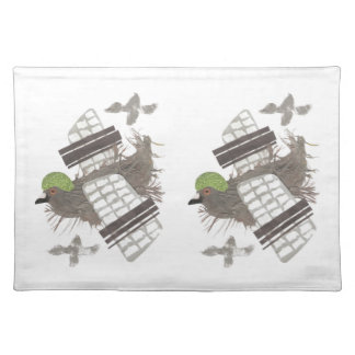 Pigeon Plane Placemat