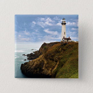 Pigeon Point Lighthouse | California 2 Inch Square Button