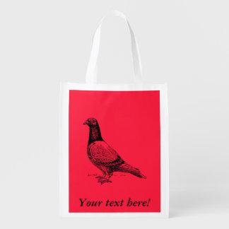 Pigeon Reusable Grocery Bag