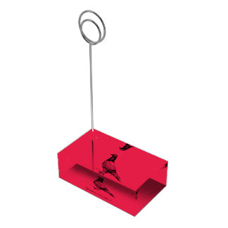 Pigeon Table Card Holder