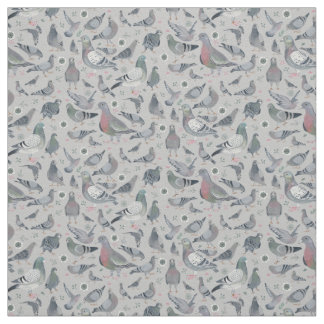 Pigeons Animal Birds Novelty   Fabric Curtain
