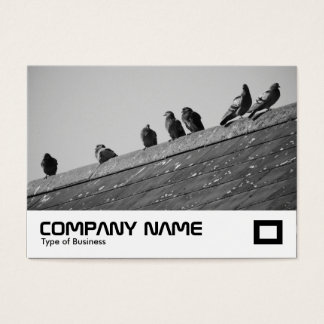 Pigeons on a Roof Business Card