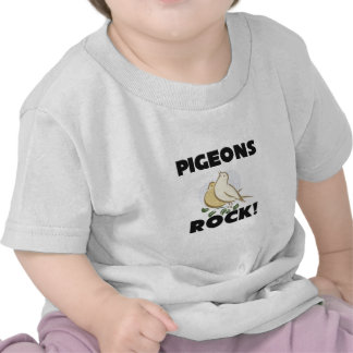 Pigeons Rock Tee Shirt