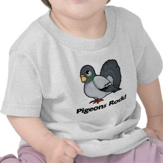Pigeons Rock! T Shirts