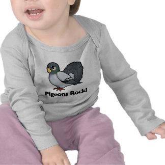 Pigeons Rock T Shirt