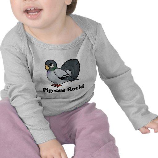Pigeons Rock! T Shirt