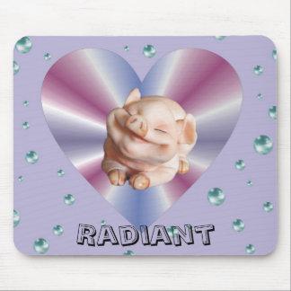 Piggies Funny Designer Mousepad
