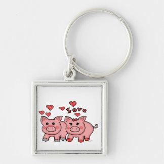 piggies key chains