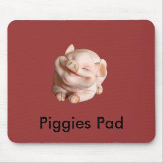 Piggies Pad Funny Designer Mousepad