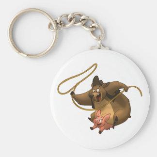 Piggy-Back Keychain