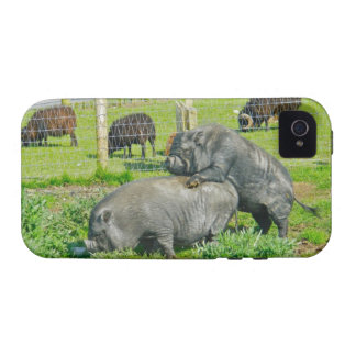 Piggy Back Ride iPhone 4 Covers