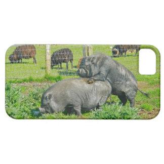 Piggy Back Ride iPhone 5 Cover