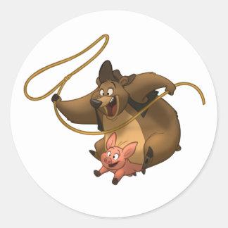 Piggy-Back Stickers