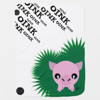 Piggy Ball Solo v1 OINKoink Blanky Swaddle Blankets