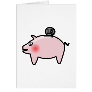 Piggy Bank Cards
