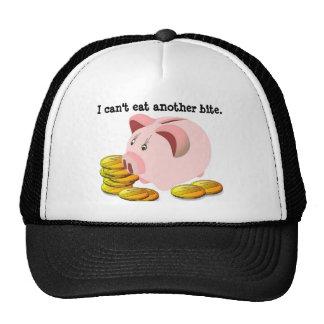 Piggy Bank Coin Slot Top Trucker Hat