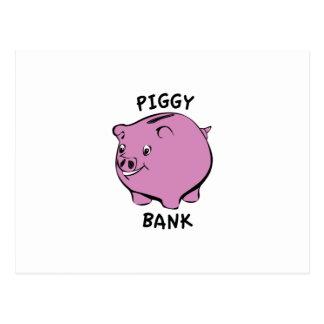 PIGGY BANK POSTCARDS